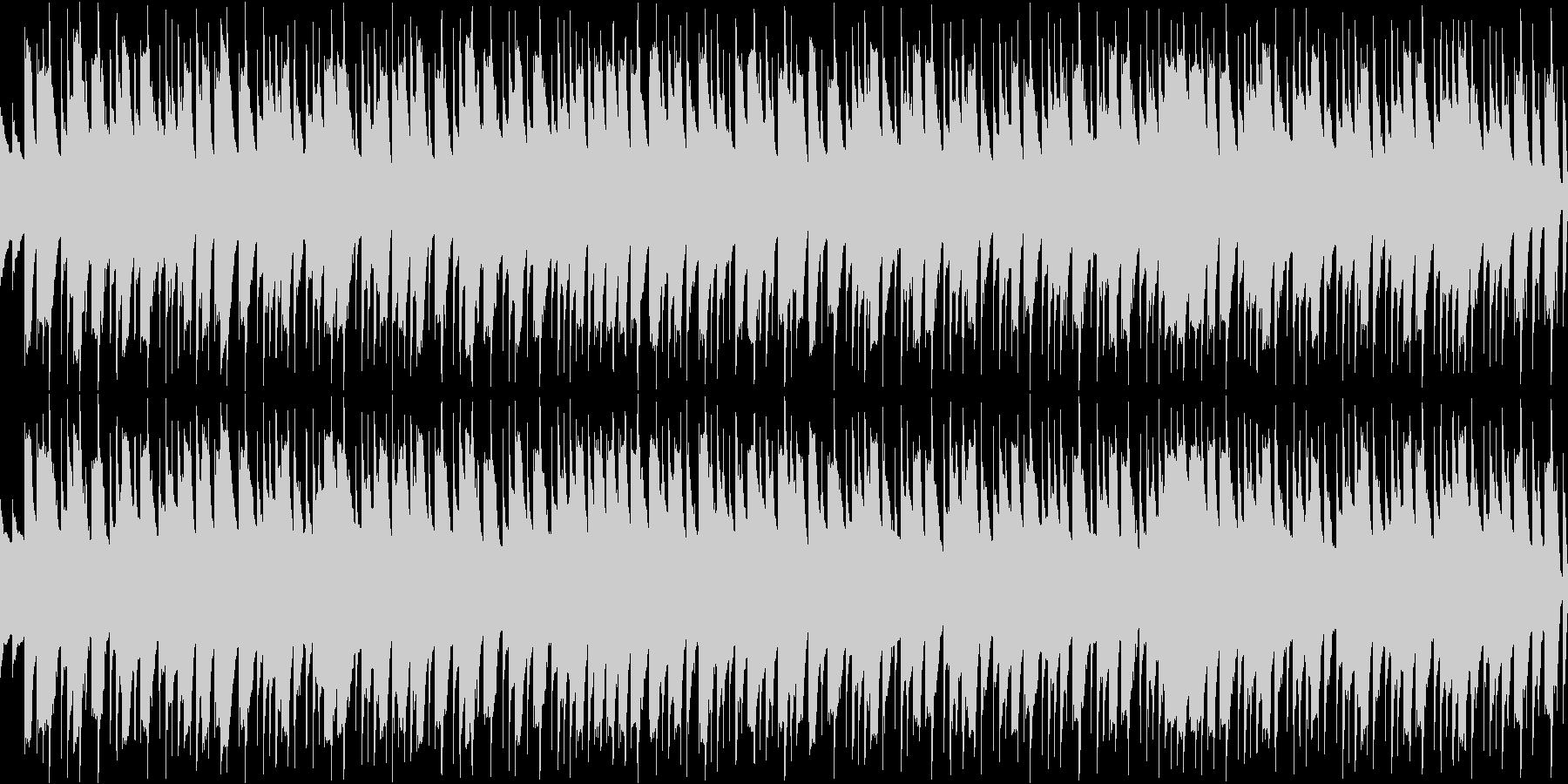 シーン・ロボット情熱・ループシンセの未再生の波形