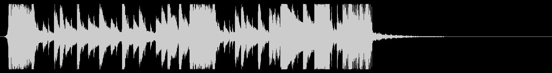 YouTube ダブステップジングル03の未再生の波形
