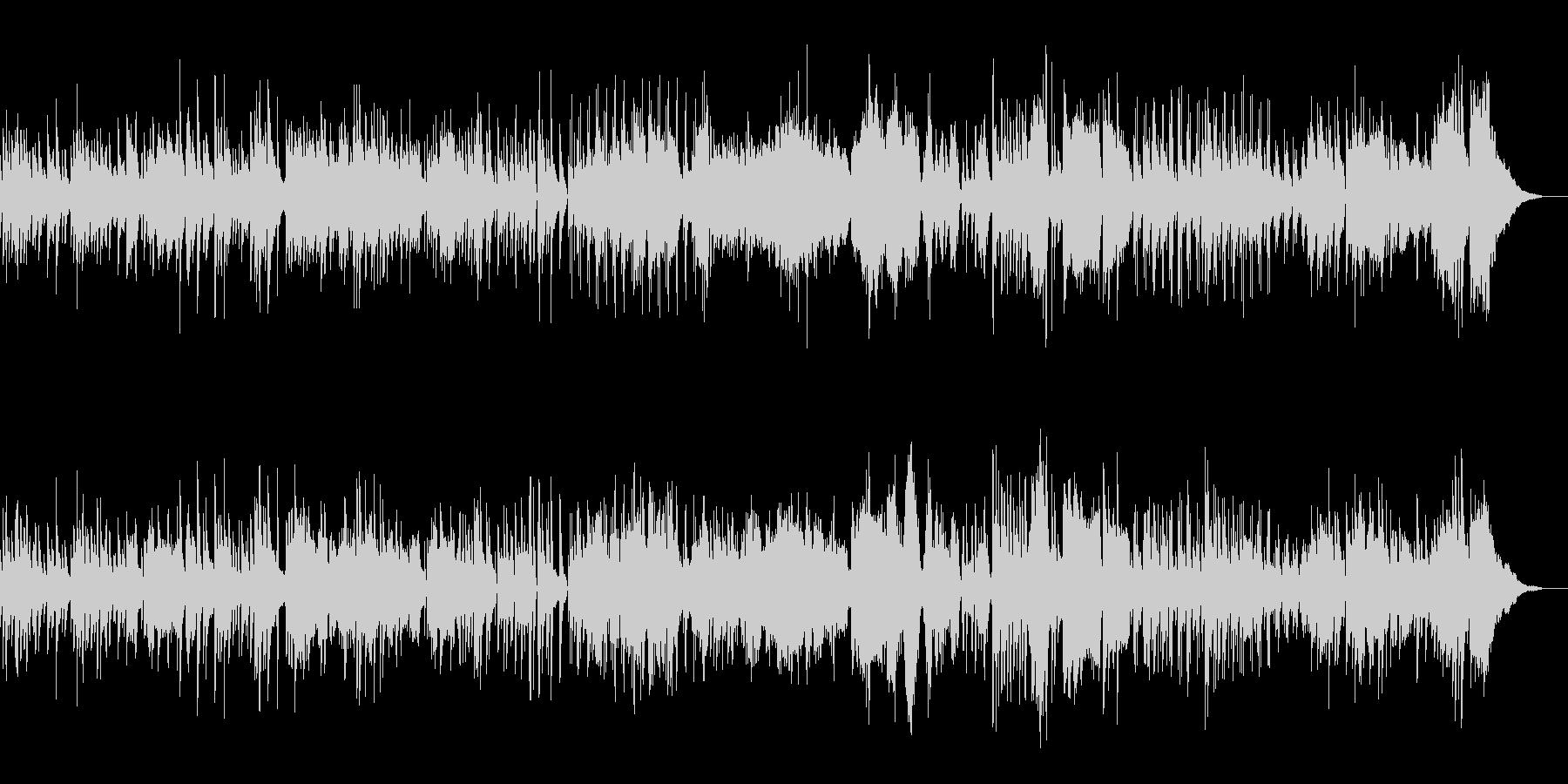 グリーンスリーブス合唱X'masジャズ の未再生の波形