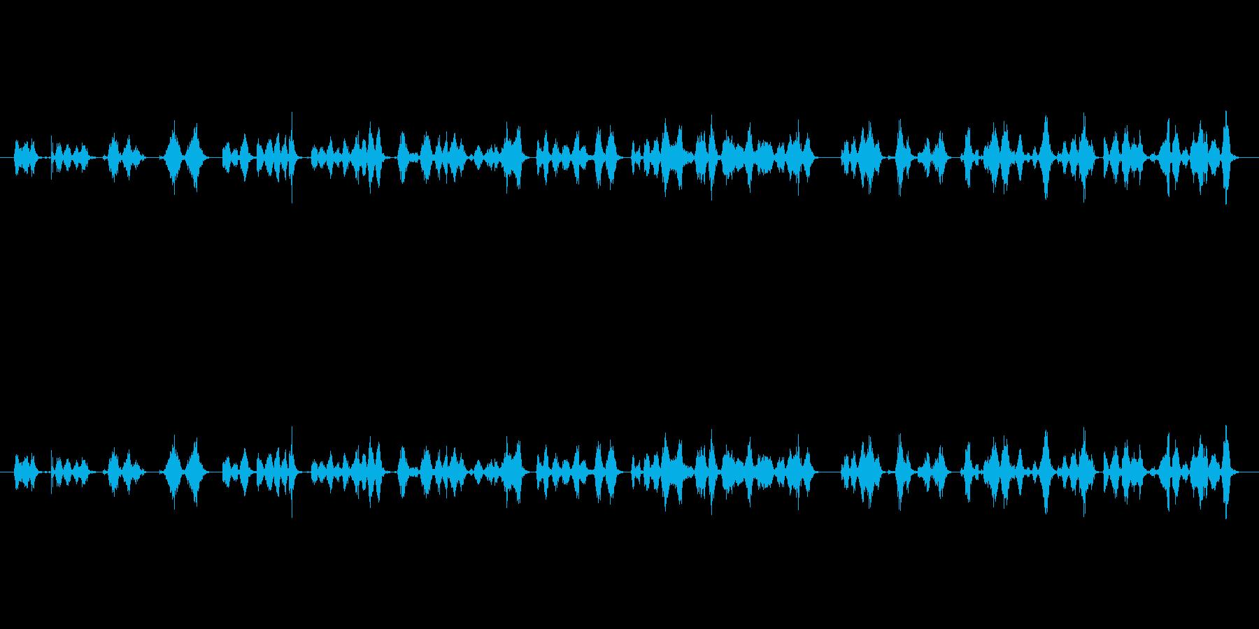 【ボールペン01-03(書く)】の再生済みの波形