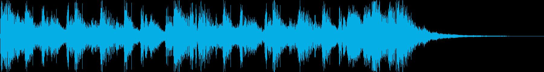 ジングル・クラップ・ベース・オープニングの再生済みの波形