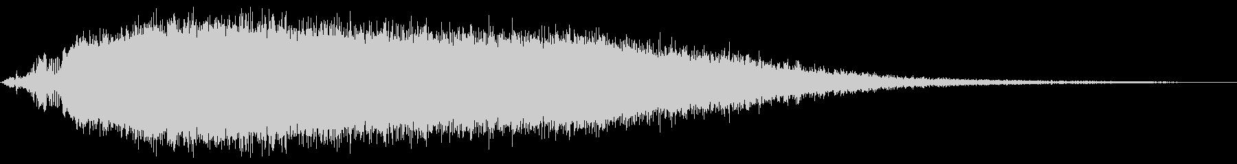 KANT怪獣の鳴き声short3の未再生の波形
