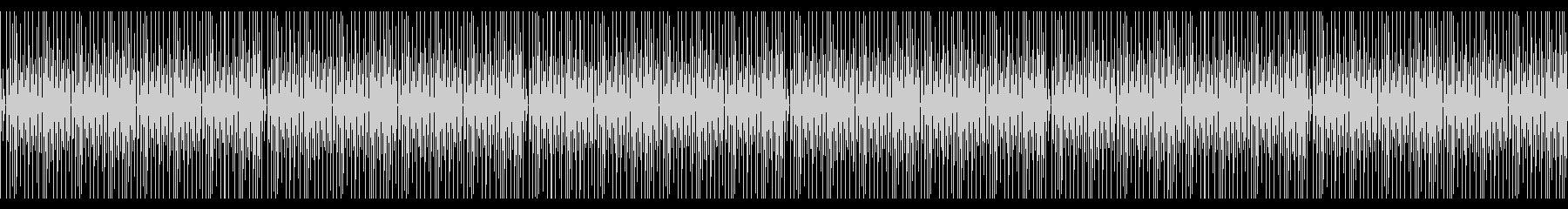 シンプルコミカルかわいい木琴BGMの未再生の波形