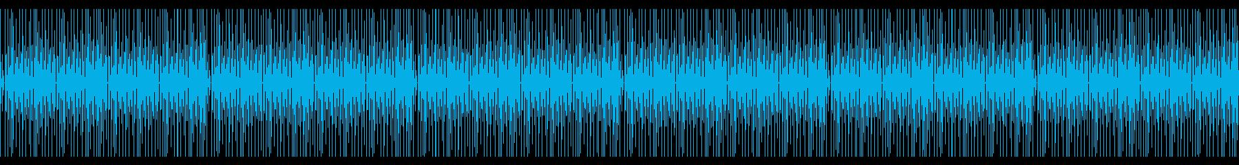 シンプルコミカルかわいい木琴BGMの再生済みの波形
