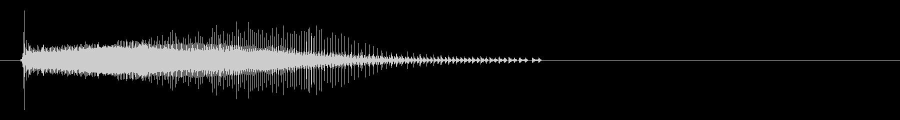 電気シェーバー4;ターンオンアンドダイ。の未再生の波形