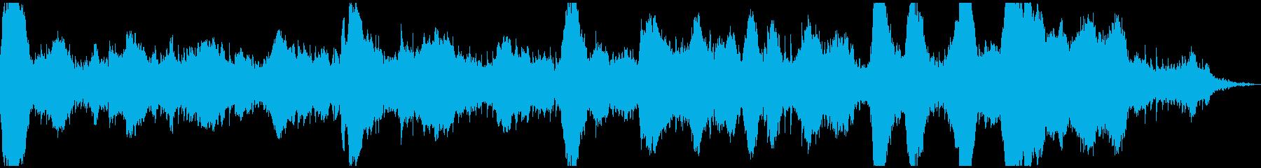 シーケンス 強く張られた01の再生済みの波形