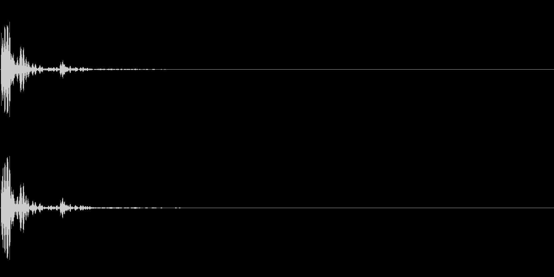 メタリックヘビードアスラムの未再生の波形