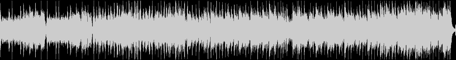 にぎやかなケルト曲(ループ)の未再生の波形