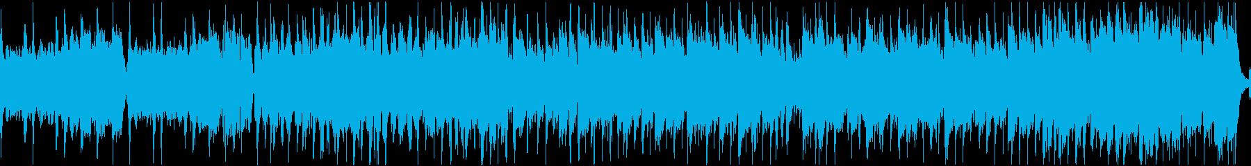にぎやかなケルト曲(ループ)の再生済みの波形