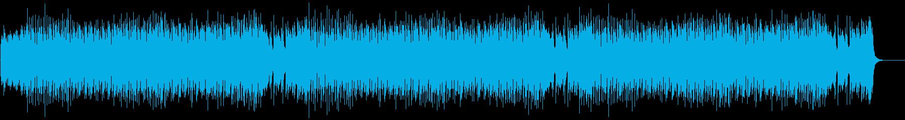 ボーナスステージの再生済みの波形