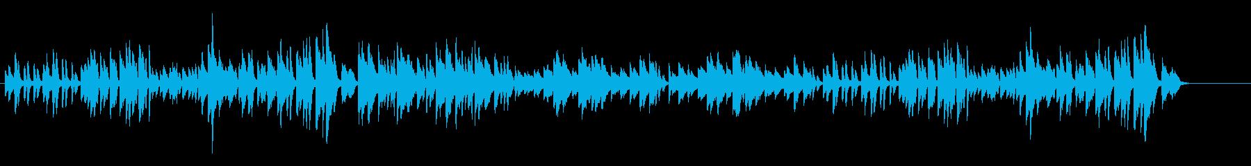 ベートーヴェン月光ソナタ 第2楽章の再生済みの波形