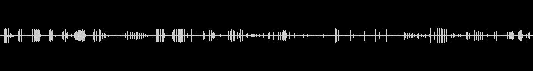 機械モータードリル木ねじの未再生の波形