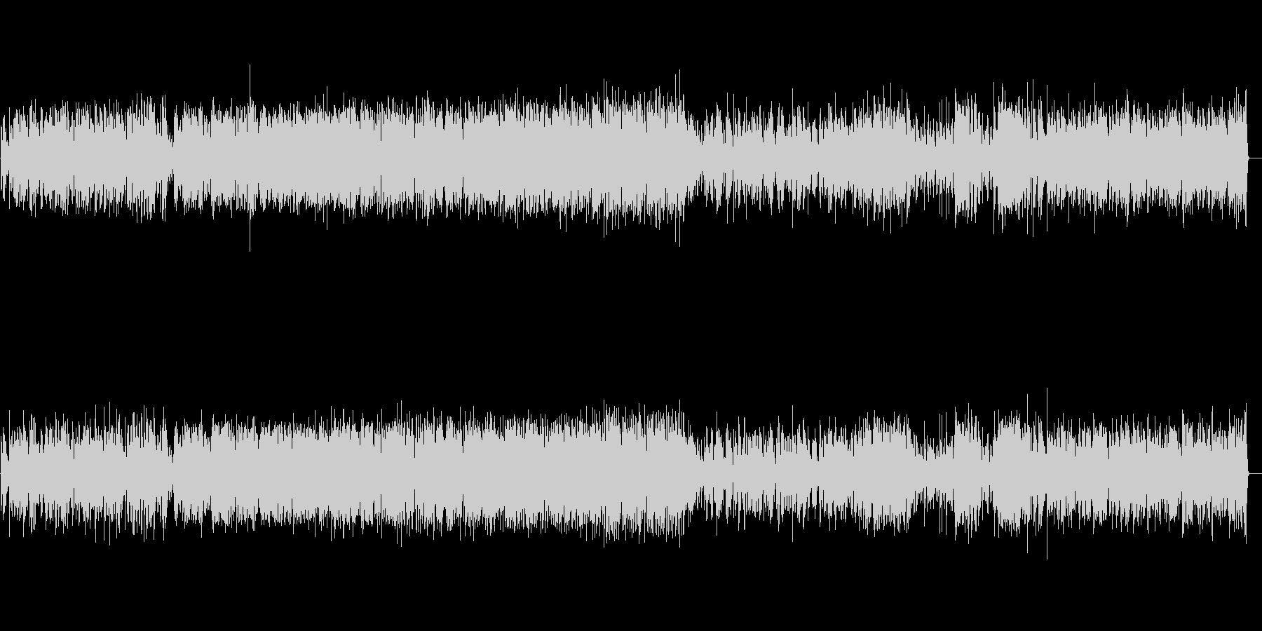 軽快なジャズピアノトリオ2の未再生の波形