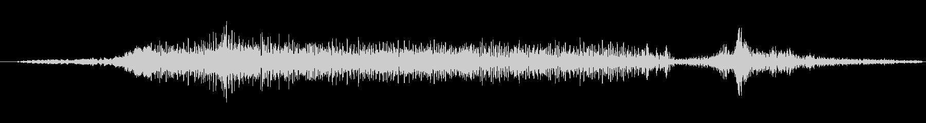 ホラー ドローンインパクト01の未再生の波形