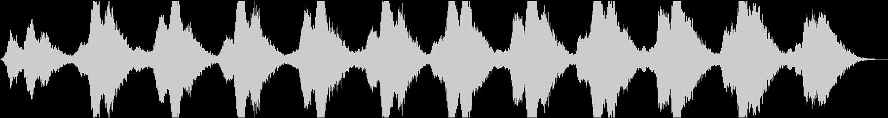動画9 16bit44.1kHzVerの未再生の波形