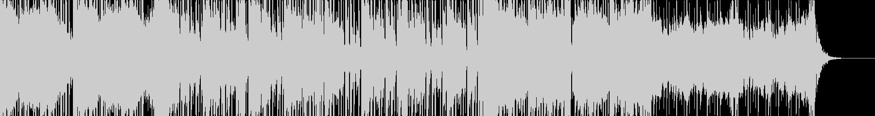 【PV映像ラスト】エンドクレジットロールの未再生の波形