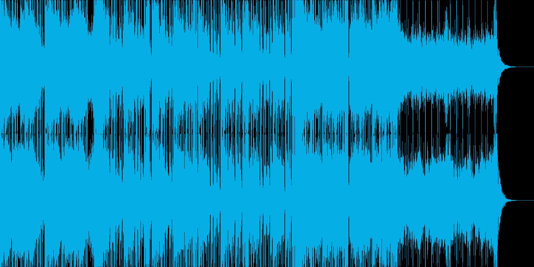 【PV映像ラスト】エンドクレジットロールの再生済みの波形