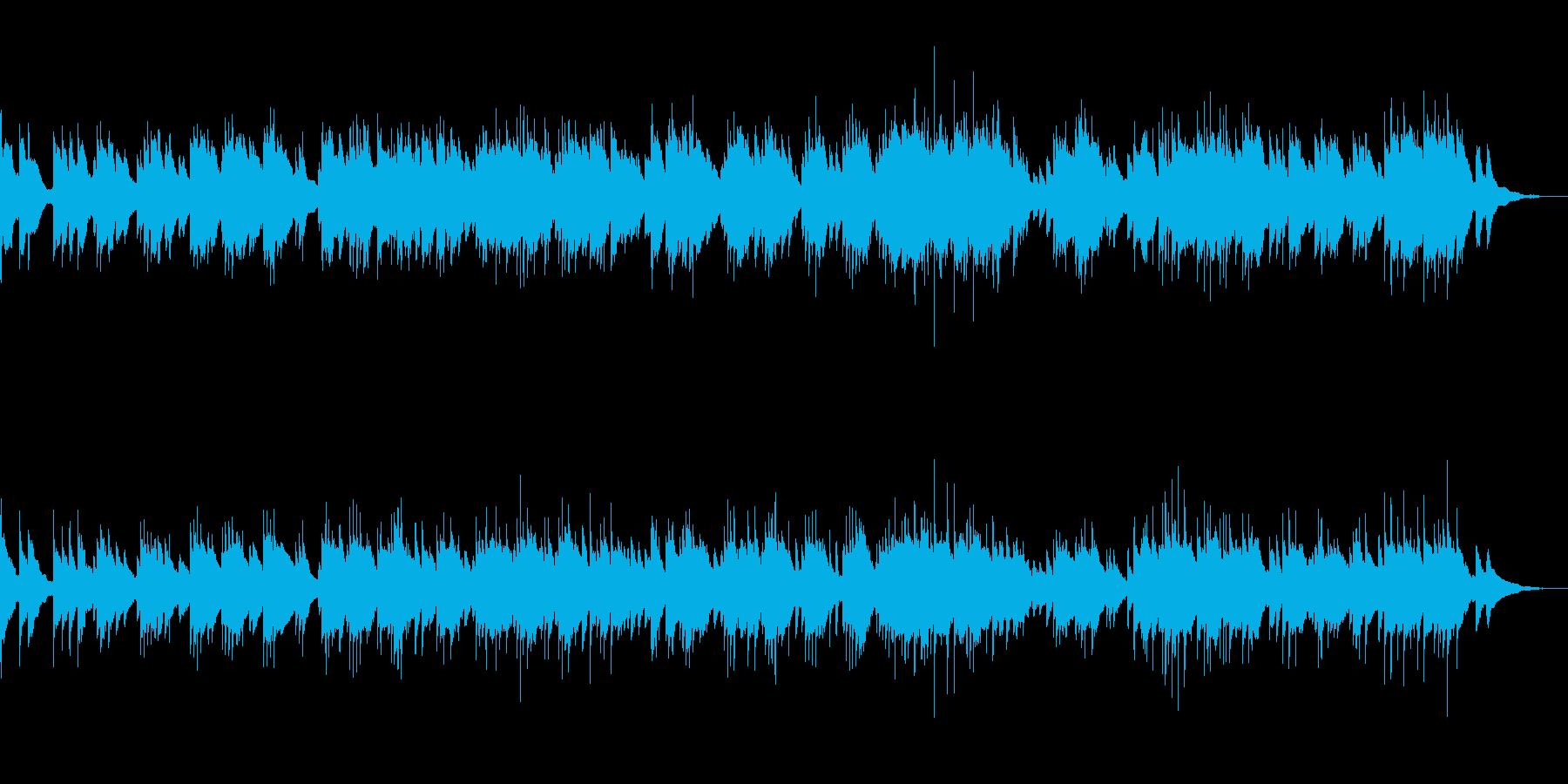 ほの暗い しっとりとしたピアノソロの再生済みの波形