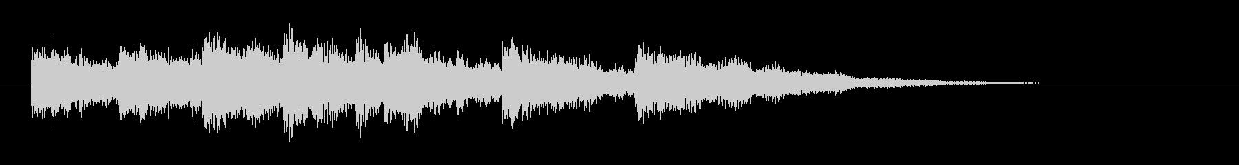 KANTアプリジングル201234の未再生の波形