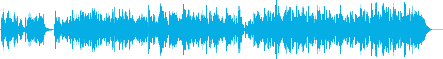 ケルト系・ピアノとハープの爽やかな舞曲の再生済みの波形