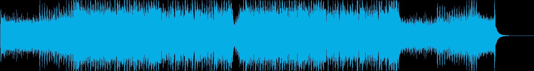 晴れた空に合う軽快なキラキラポップaの再生済みの波形