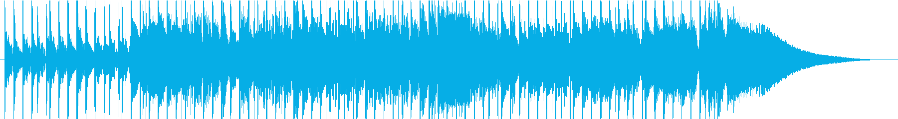 オープニング・パーティ・ポップの再生済みの波形
