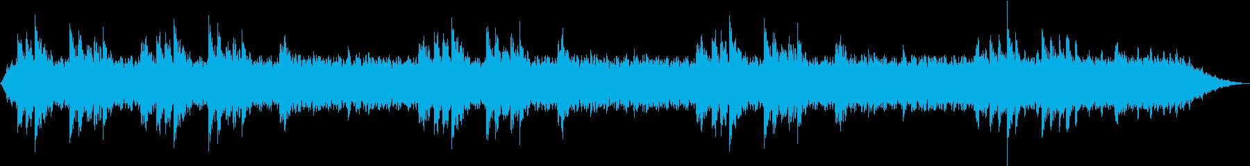 温かいサウンドに包まれる心地良いメロディの再生済みの波形