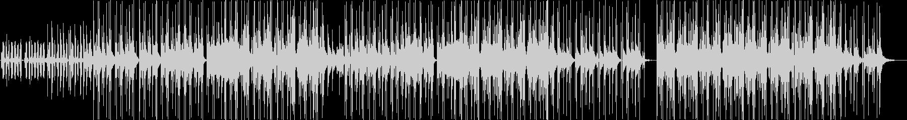 クールビューティーKpopの未再生の波形