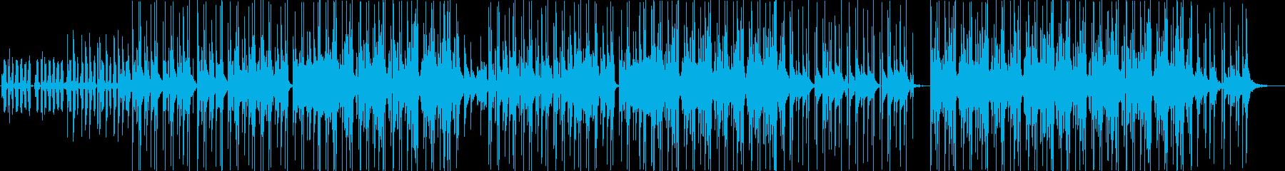 クールビューティーKpopの再生済みの波形