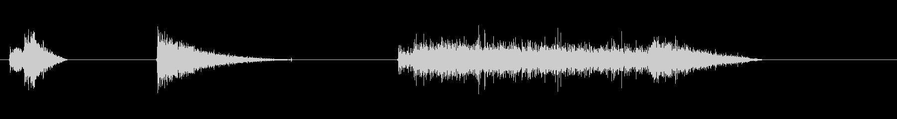 ショートバースト火炎放射器1の未再生の波形