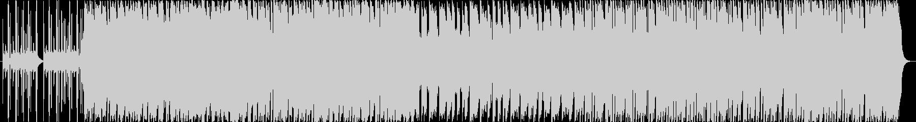 遊び心あるワクワクピアノBGM(CM)の未再生の波形