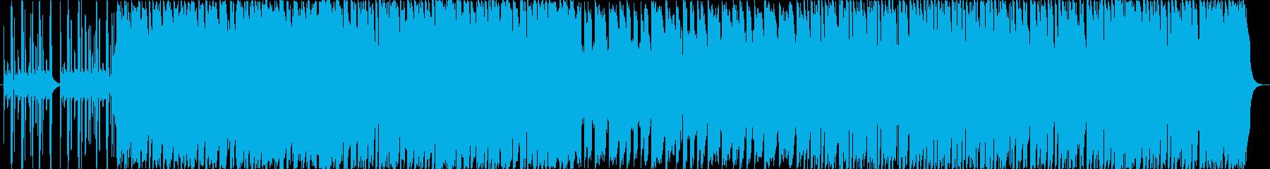 遊び心あるワクワクピアノBGM(CM)の再生済みの波形