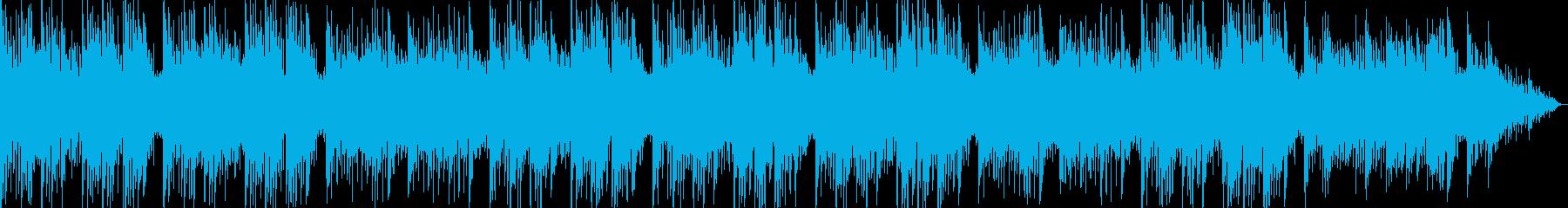 ピアノの旋律がきれいなバラードの再生済みの波形