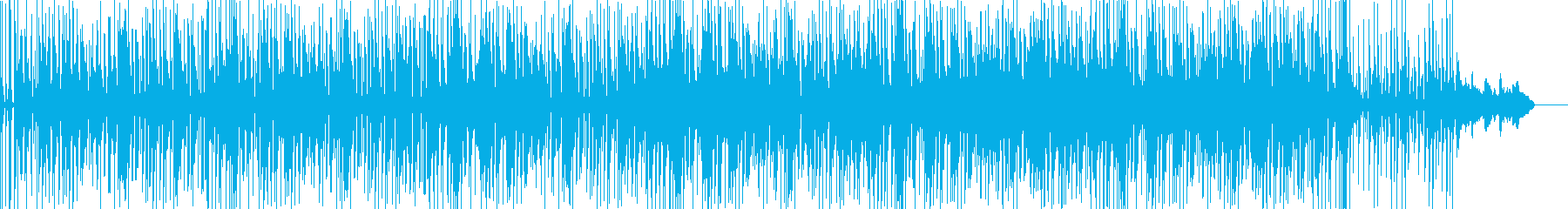 Calm Funky Jazz Easyの再生済みの波形