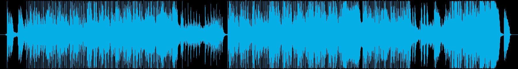 C-POPなギター曲の再生済みの波形