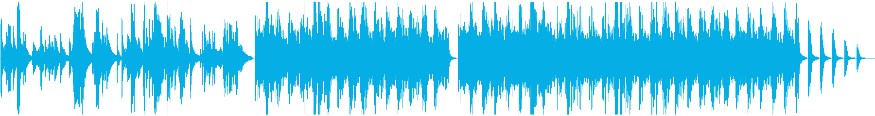 Pianoforte Solo。シ...の再生済みの波形