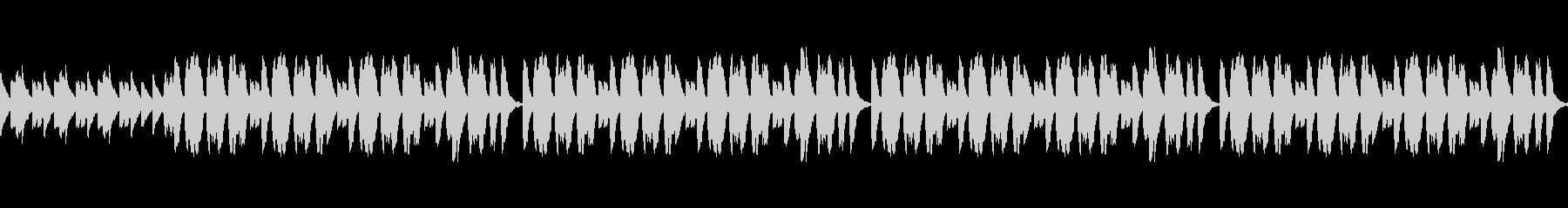 子供向け番組のほのぼのBGM ループの未再生の波形
