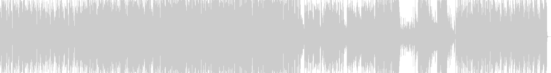 スタンダードジャズの軽快なピアノトリオの未再生の波形