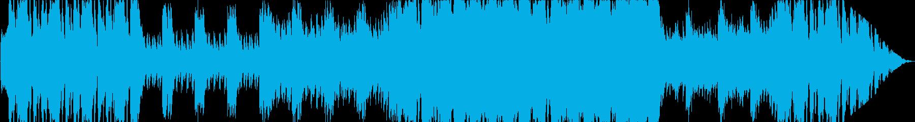 ボス戦に最適な重厚オーケストラの再生済みの波形