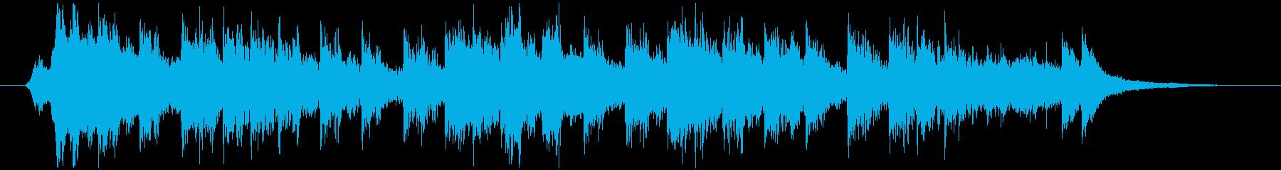 和風クイズ 考え中の緊迫BGM【15秒】の再生済みの波形