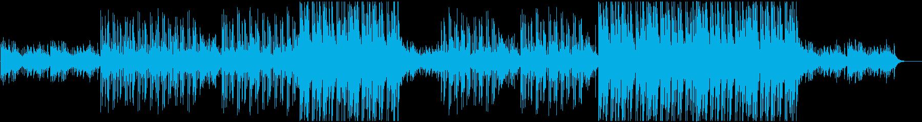 ヒップホップ系のアコースティックなBGMの再生済みの波形