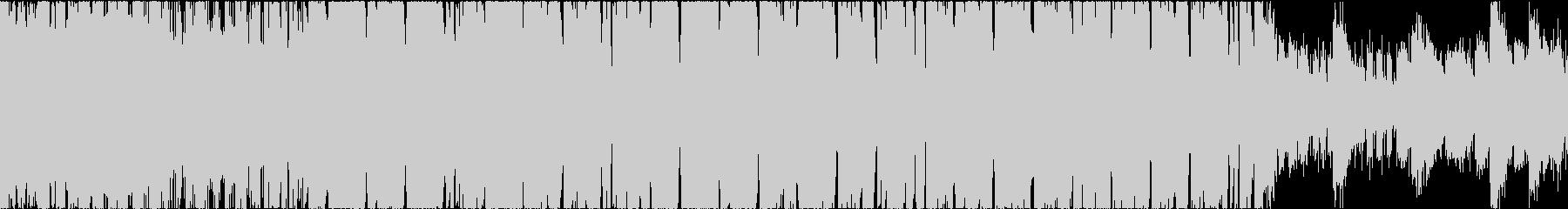 お洒落なボサノヴァ系BGM【ループ可】の未再生の波形