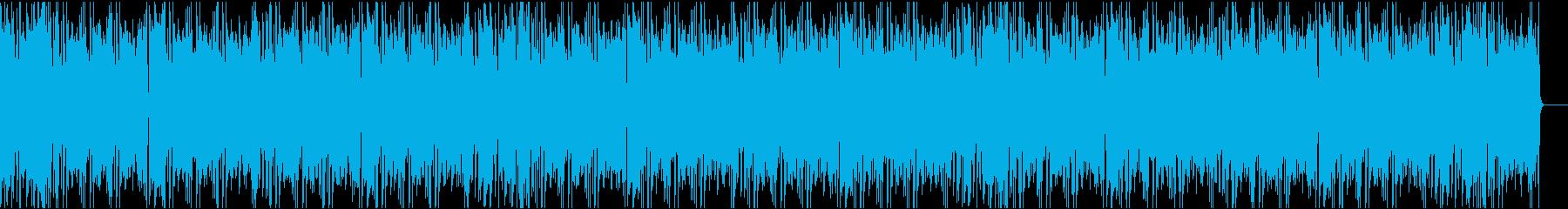 かわいいコミカル/カラオケ/イントロ8秒の再生済みの波形