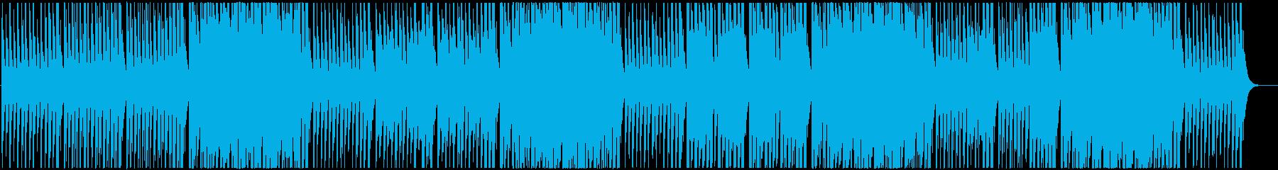 3分クッキング風BGMの再生済みの波形