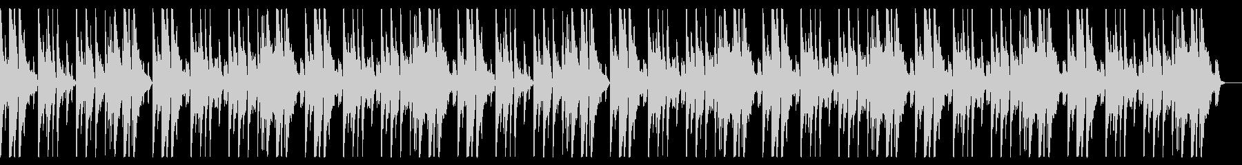明るく切ないピアノメインのBGMaの未再生の波形