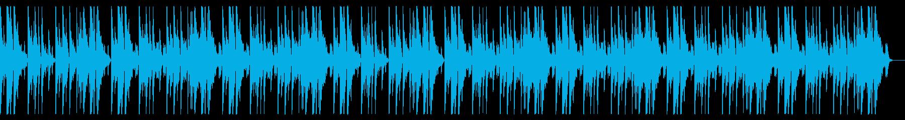 明るく切ないピアノメインのBGMaの再生済みの波形