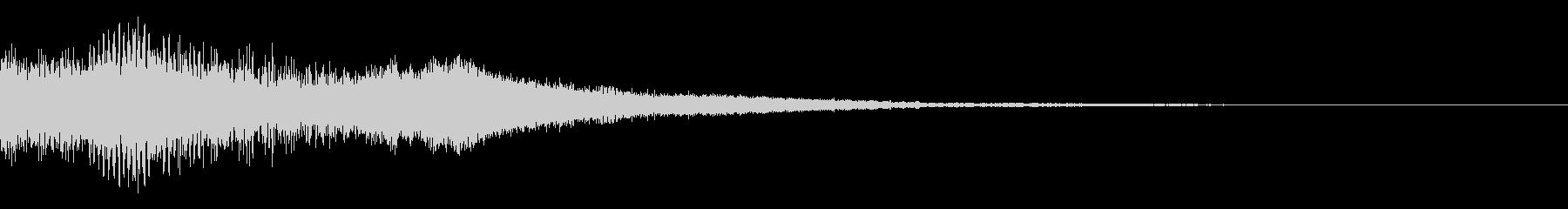 バイブシンセの未再生の波形