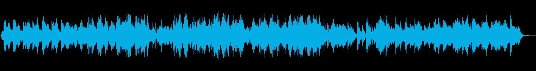 しっとりと寂しげなミュージックの再生済みの波形