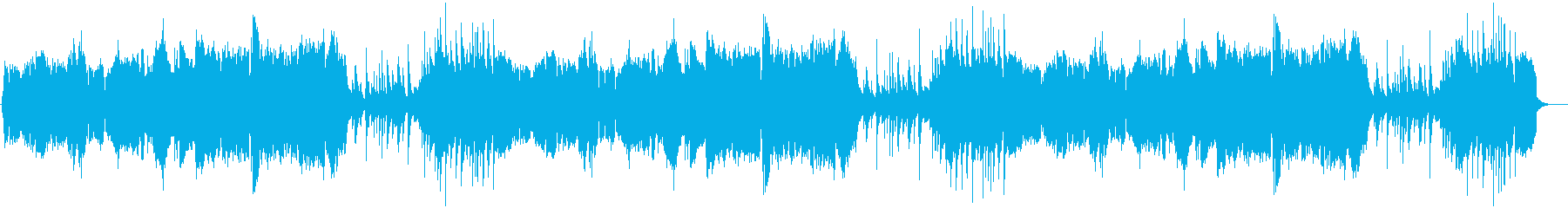 和楽器とチェロのバラードの再生済みの波形
