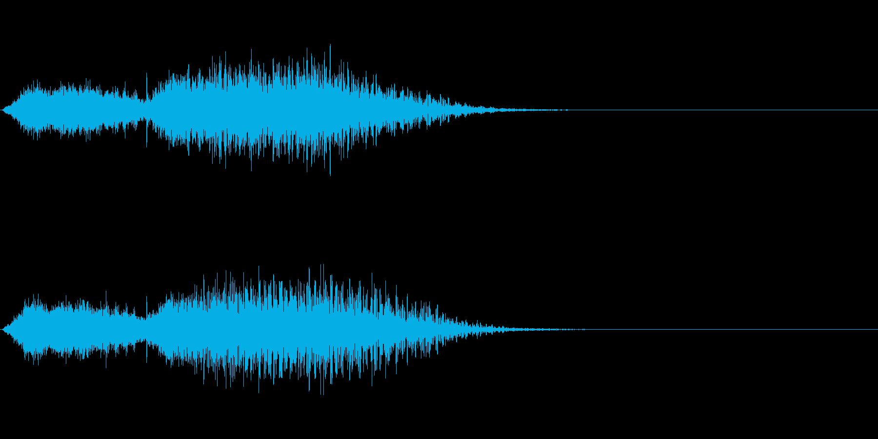 タイトル/ロゴ/テロップ ⑥ 鐘・水の再生済みの波形